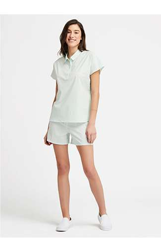 Women's Soft Stretch Short Sleeve Pajamas (Solid) at $39.90