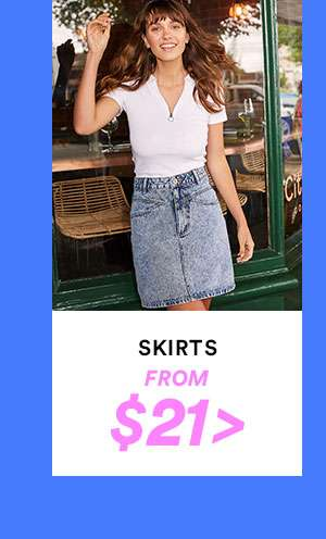 Women's Skirts | SHOP NOW