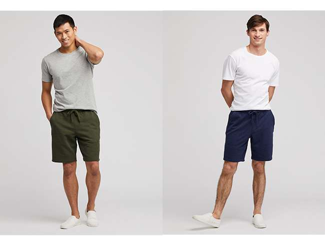 Men's Easy Shorts (Jersey) at $19.90