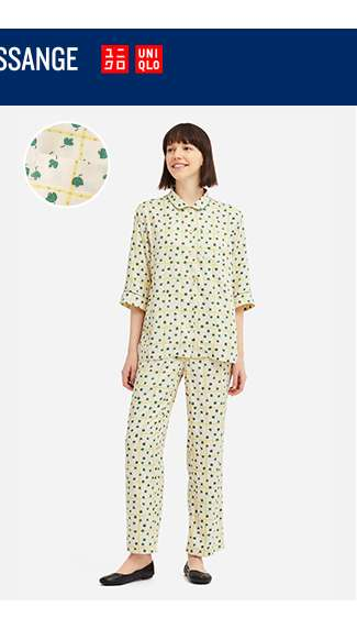 IDLF 3/4 Sleeve Rayon Pajamas (Leaf) at $49.90