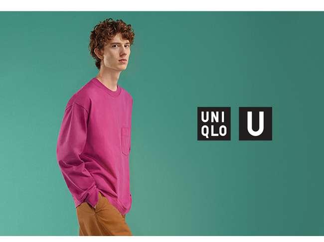 UNIQLO U Crew Neck Long Sleeve T-Shirt at $19.90