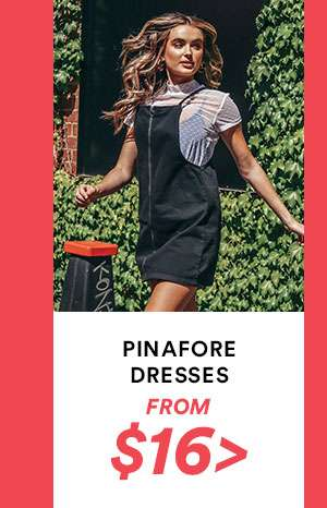 Pinafore Dresses | SHOP NOW