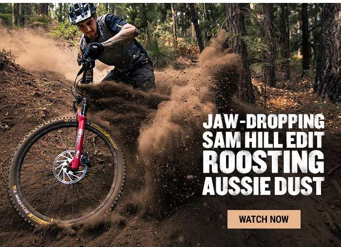 Jaw-dropping Sam Hill edit roosting Aussie dust
