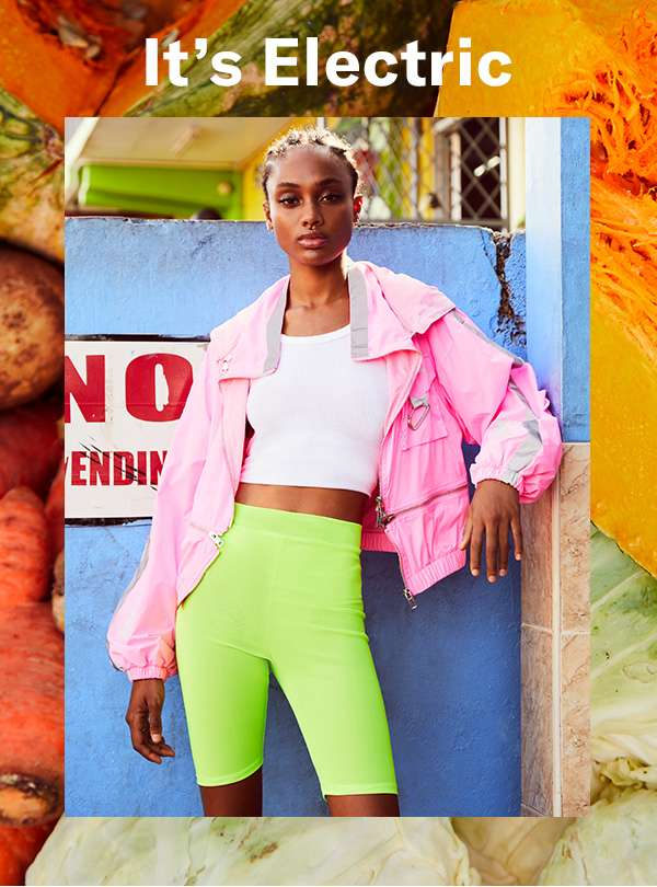 Get ready to see your closet in a whole new bright, thanks to spring's standout neons.