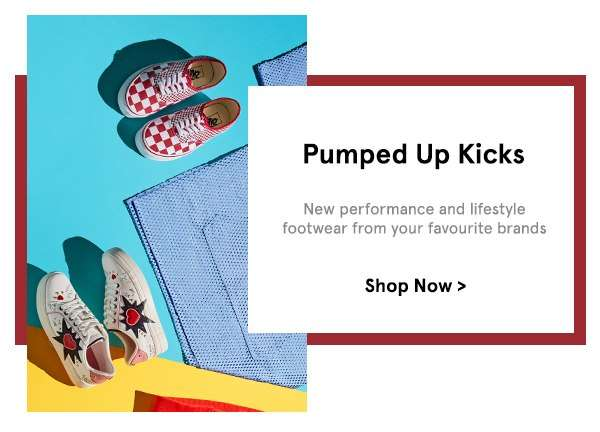 Pumped Up Kicks: New performance and lifestyle footwear from your favourite brands