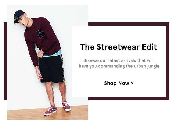 The Streetwear Edit: Browse our latest arrivals that will have you commanding the urban jungle