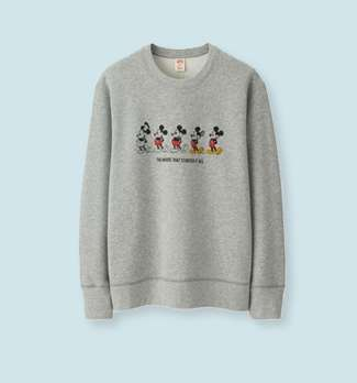 Celebrate Mickey Graphic Sweat Shirt at $19.90