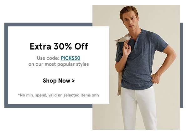 Extra 30% Off with code PICKS30