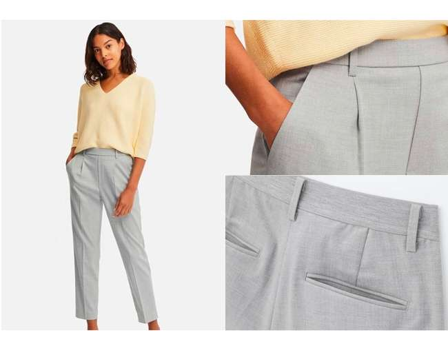 EZY Tucked Ankle Pants at $39.90