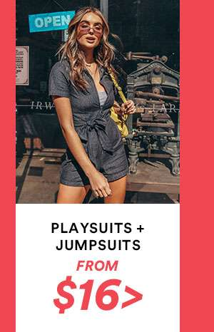 Playsuits | SHOP NOW