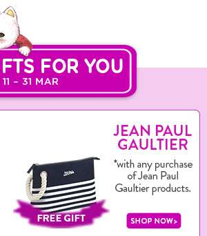 Shop Now: Jean Paul Gaultier