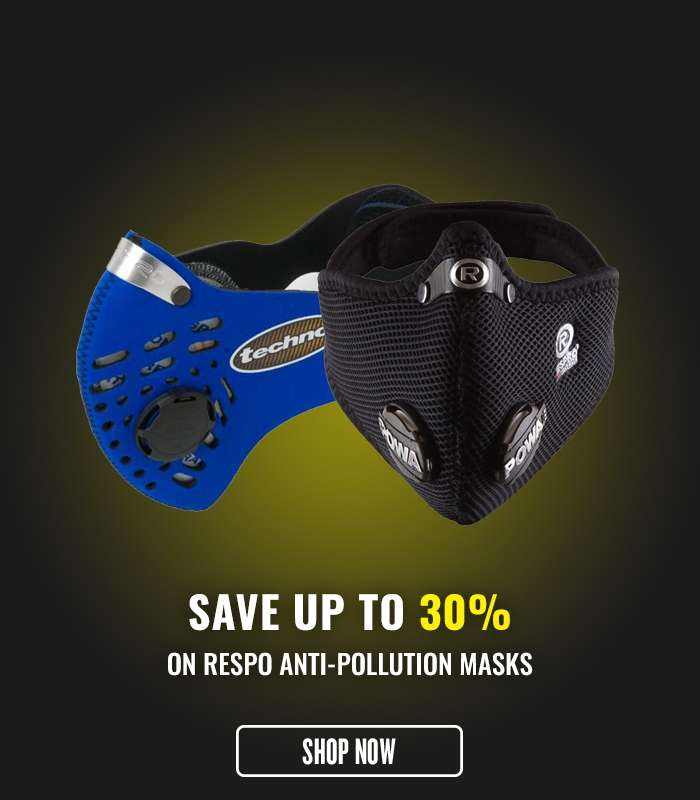 Save up to 30% on Respo Anti-Pollution Masks