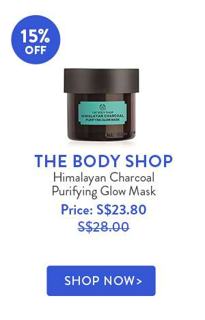 Shop Now: THE BODY SHOP Himalayan Charcoal Purifying Glow Mask