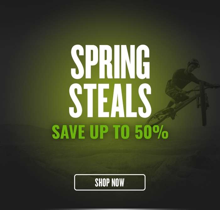 Spring Steals - Save up to 50%