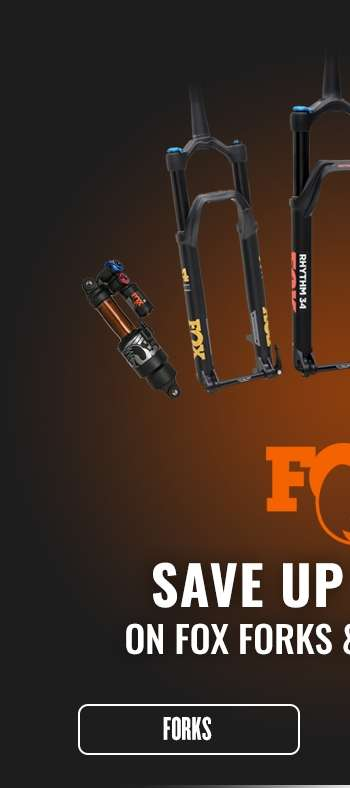 Save up to 50% on Fox Suspension Forks with Spend & Save