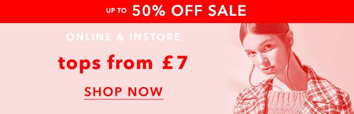 Up to 50% off sale - Shop now
