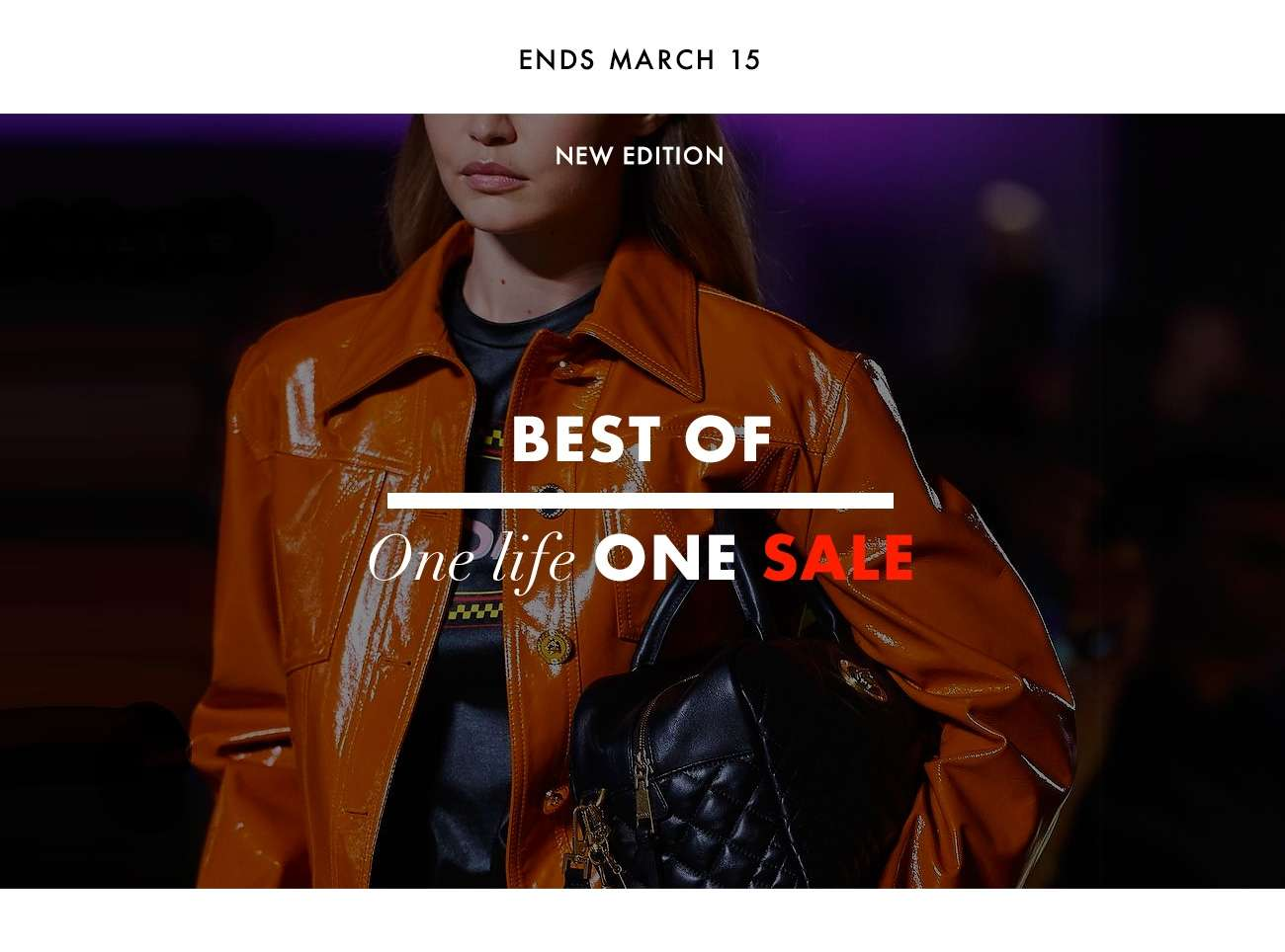 BEST OF ONE LIFE ONE SALE