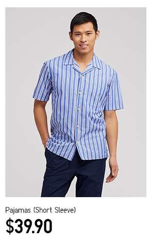 Men's Pajamas Short Sleeve at $39.90