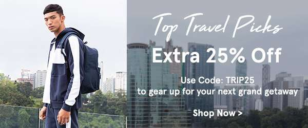 Top Travel Picks: EXTRA 25% Off