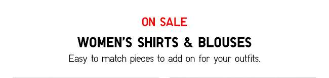Women's Shirts & Blouses