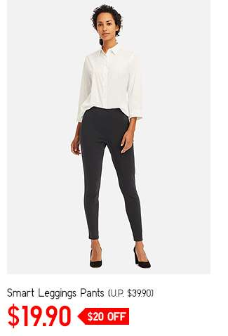 Women's Cropped Leggings Pants at $19.90