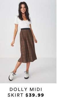 Dolly Midi Skirt | Shop Now