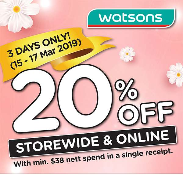 Storewide 20%