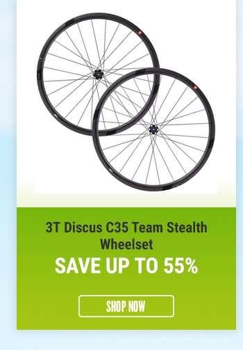 3TDiscus C35 Team Stealth Wheelset