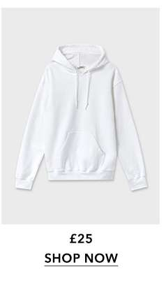 White Long Sleeve Oversized Hoodie