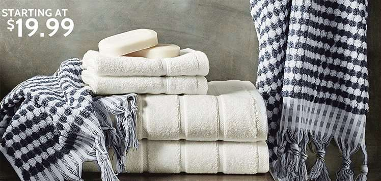 Plush Bath Towels & Rugs