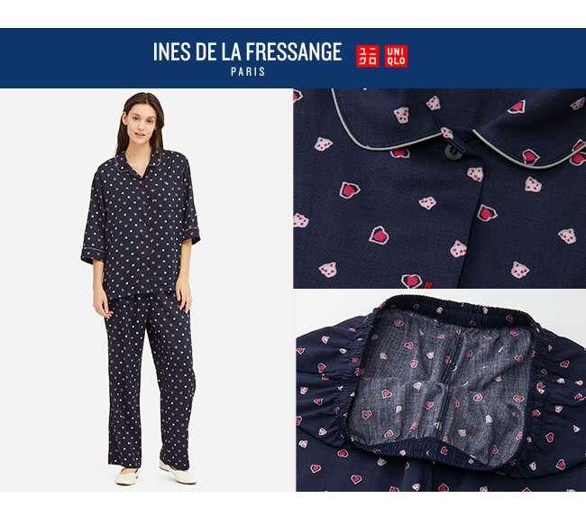 IDLF 3/4 Sleeve Rayon Pajamas at $39.90