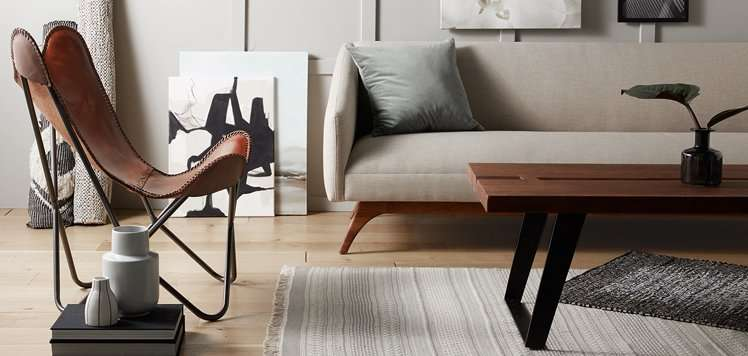 Up to 75% Off Minimalist Rugs & Art