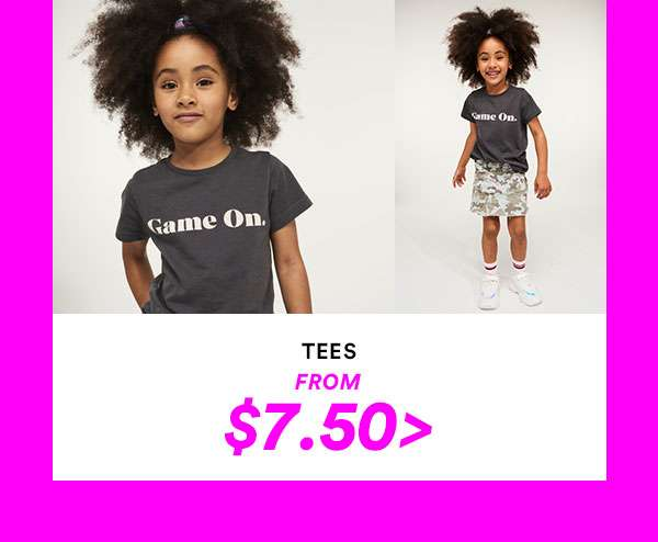 KIDS TEES | SHOP NOW