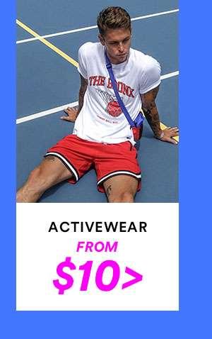 MENS ACTIVEWEAR | SHOP NOW