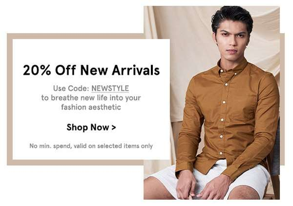 New Arrivals: EXTRA 20% Off
