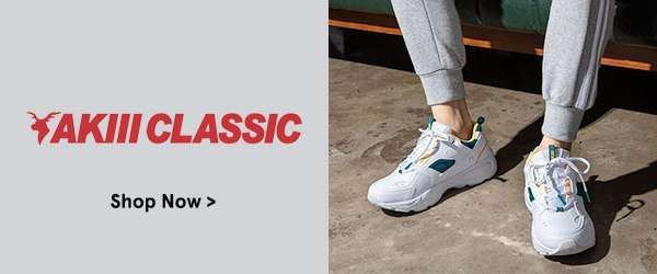 New on ZALORA: Akii Classic