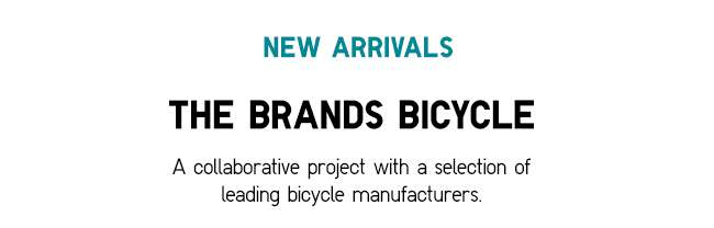 A collaborative project with a selection of leading bicycle manufacturers.