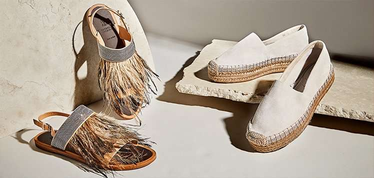 Brunello Cucinelli Shoes to Apparel