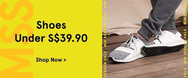 Shoes Under S$39.90
