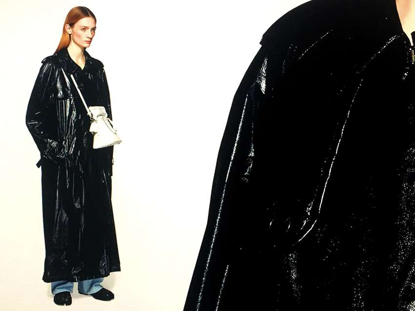 de4377d3c3f802 Designers have reworked spring outerwear this season. From the iconic  trench to reflective raincoats
