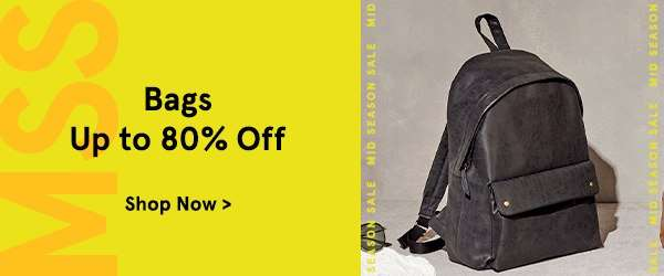 Mid Season Madness: Bags Up to 80% Off