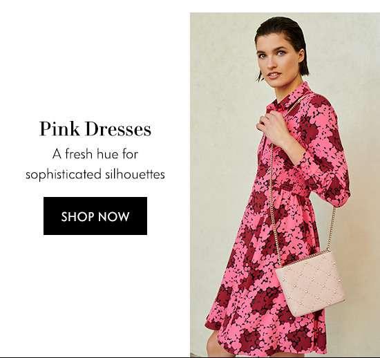 Shop Pink Dresses