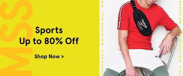 Sports Up to 80% Off