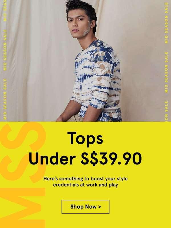 Tops Under S$39.90