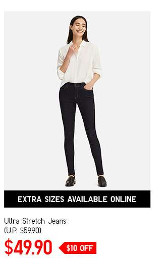 Women's Ultra Stretch Jeans at $49.90