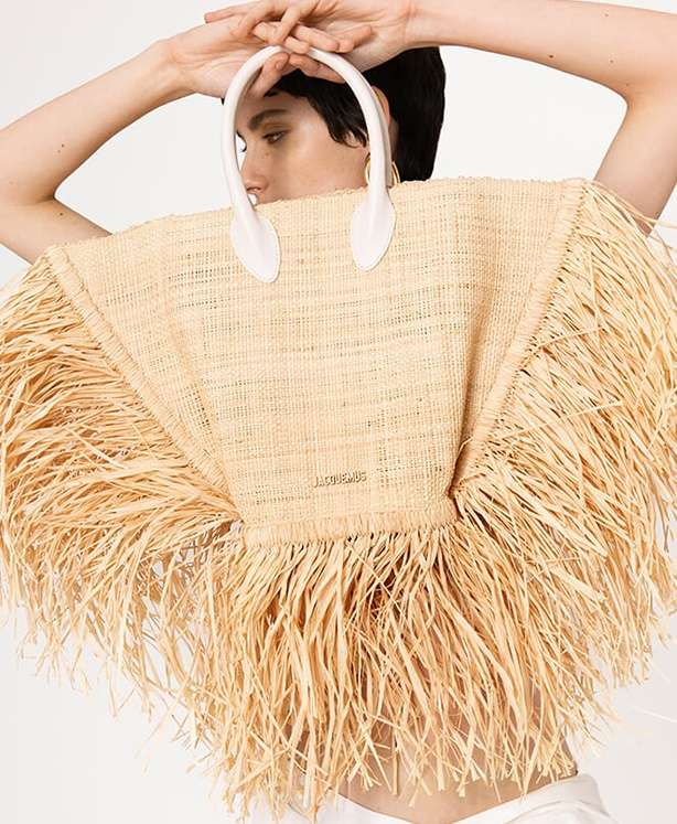 On our radar: straw bags