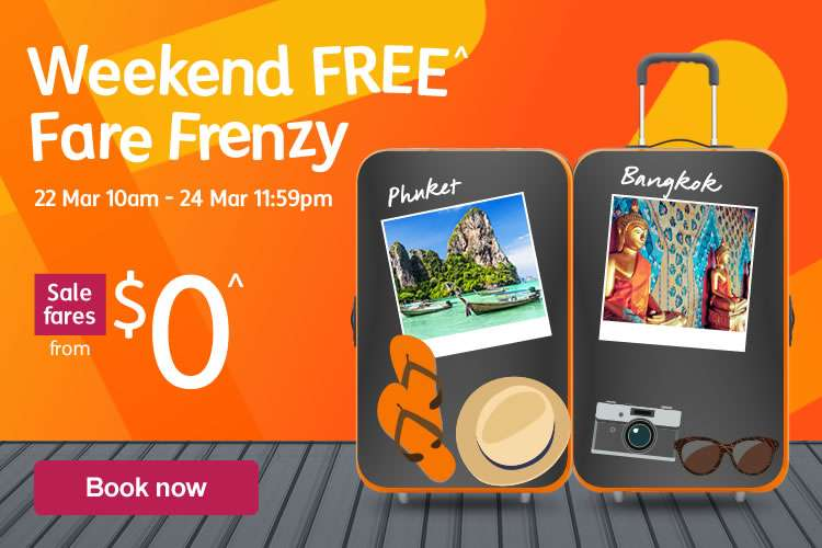 Weekend Free Fare Frenzy