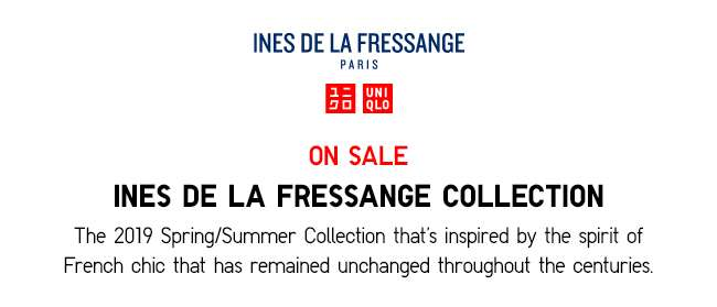 Ines De La Fressange Collection now on sale