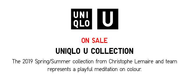 Uniqlo U Collection now on sale
