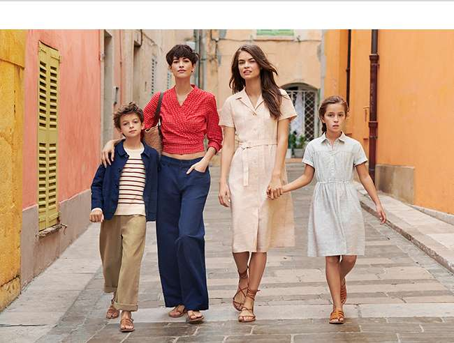 Women's and Kids' Ines De La Fressange Collection